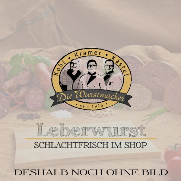 Leberwurst im 200g Glas