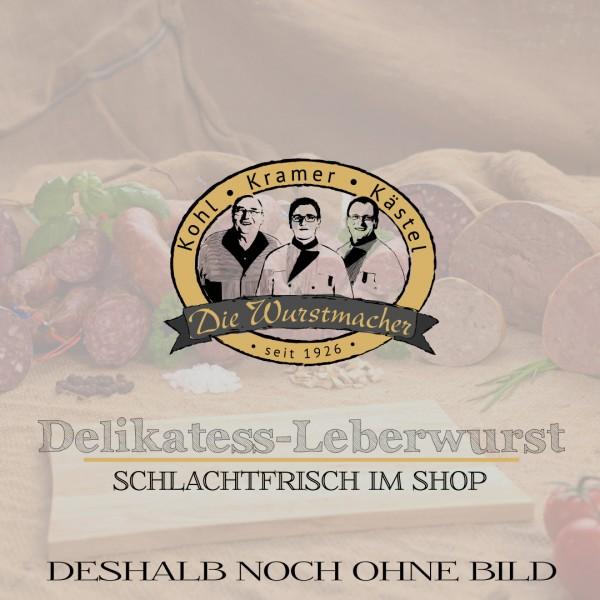 Delikatess-Leberwurst im 200g Glas
