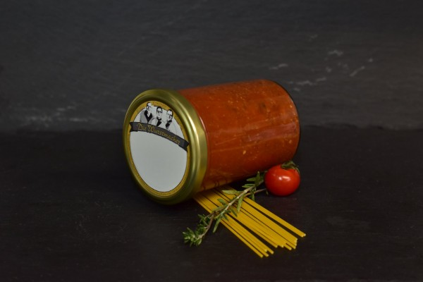 hausgemachte Bolognese Soße vom Rind 400g Glas